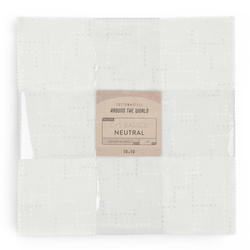 """Cotton and Steel Basics 10"""" x 10"""" Pack in Neutral"""