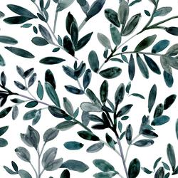 Sprigs in Deep Jade