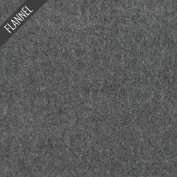 Melton Flannel in Black
