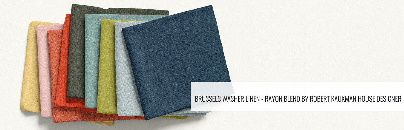Brussels Washer Linen - Rayon Blend