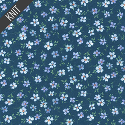 Forget Me Not in Navy