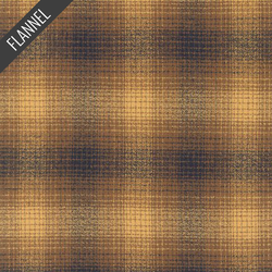 Mammoth Blurry Plaid Flannel in Toasted Almond