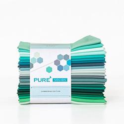 Pure Solids Fat Quarter Bundle in Summering