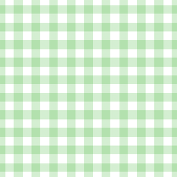 Large Summer Gingham in Leafy Green