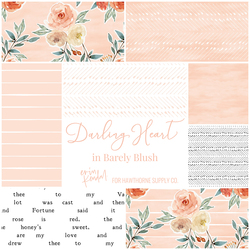 Darling Heart Fat Quarter Bundle in Barely Blush