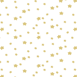 Star Light in Honey on White