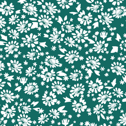 Daisies in Emerald