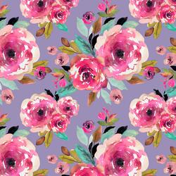 Roselynn Floral in Magenta on Iris
