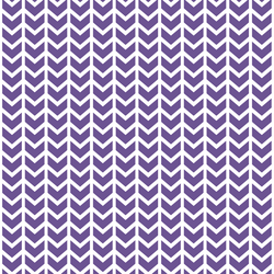 Broken Chevron in Ultra Violet