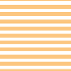 Little Stripes in Creamsicle
