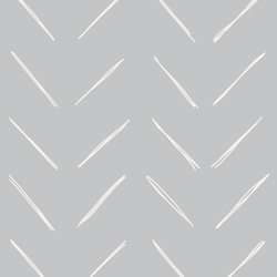 Large Chevron in Lunar Gray