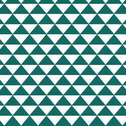 Triangle Mosaic in Emerald
