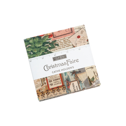 """Christmas Faire 5"""" Square Pack"""