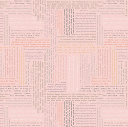 Text in Parchment Pink