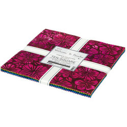"""Artisan Batiks 10"""" Squares in Welcome to Paradise"""