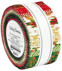 Holiday Charms Roll Up in Holiday Colorstory