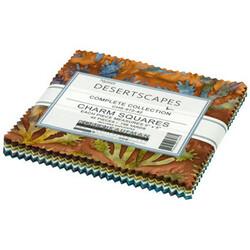 "Desertscapes Artisan Batiks 5"" Square Pack"