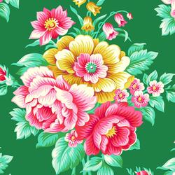 Flirty Floral in Spearmint