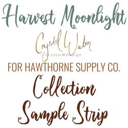 Harvest Moonlight Sample Strip