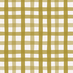 Gingham in Evergreen