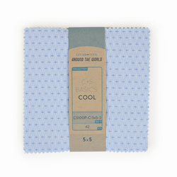 "Cotton and Steel Basics 5"" x 5"" Pack in Cool"