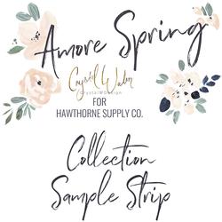 Amore Spring Sample Strip