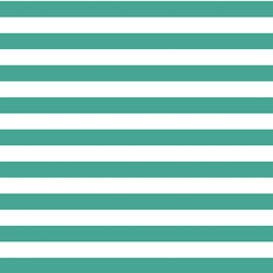 Horizontal Candy Stripe in Jade