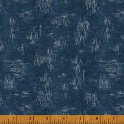 Woven Texture in Indigo