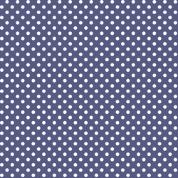 Tiny Dot in Indigo