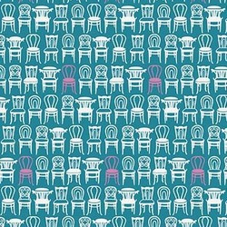 Vienna Chairs in Teal