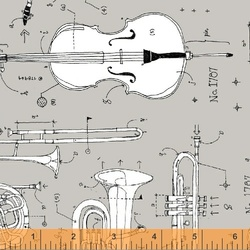 Anatomy of Music in Grey