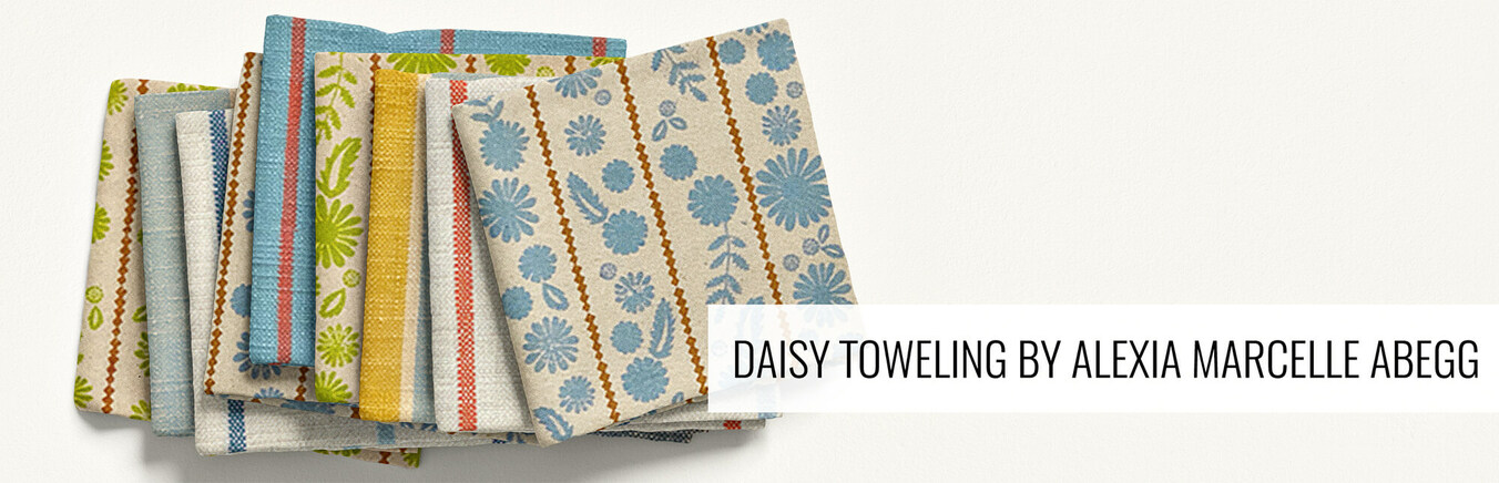 Daisy Toweling by Alexia Marcelle Abegg