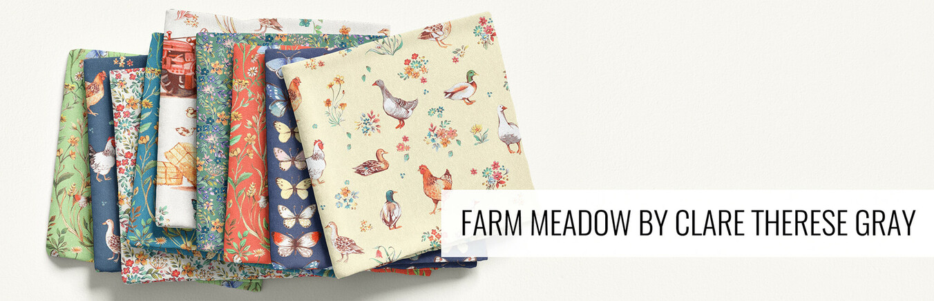 Farm Meadow by Clare Therese Gray