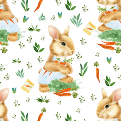 Bunny Boy in Spring