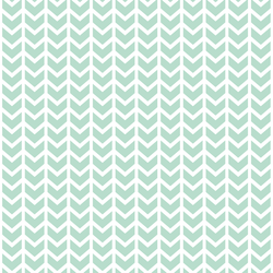 Broken Chevron in Mint