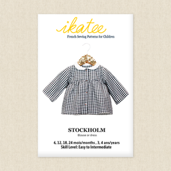 Stockholm Blouse or Dress - Baby