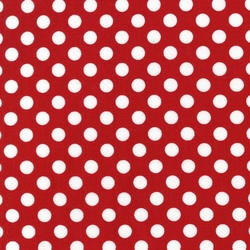 Medium Spots in Red
