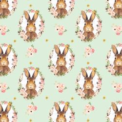 Little Bunny Love in Soft Moss