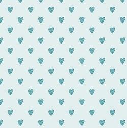 Hearts in Aqua