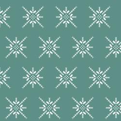 Snowflake Stitch in Agate