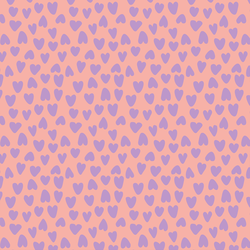 Valentine's Heart in Lavender and Pink