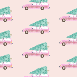 Christmas Vacation in Pink Taffy