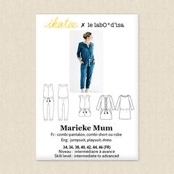 Marieke Jumpsuit, Playsuit and Dress - Womens