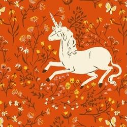 Unicorn in Orange
