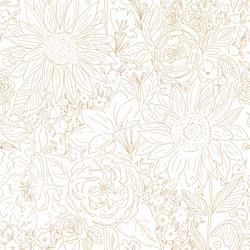 Paperie in Golden Girl on White