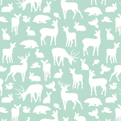 Forest Friends in Mint