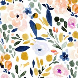 Sierra Floral in Amber