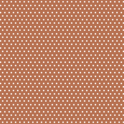 Polka Dots in Terracotta