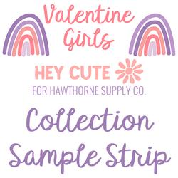 Valentine Girls Sample Strip