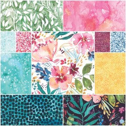 Brightly Blooming Fat Quarter Bundle